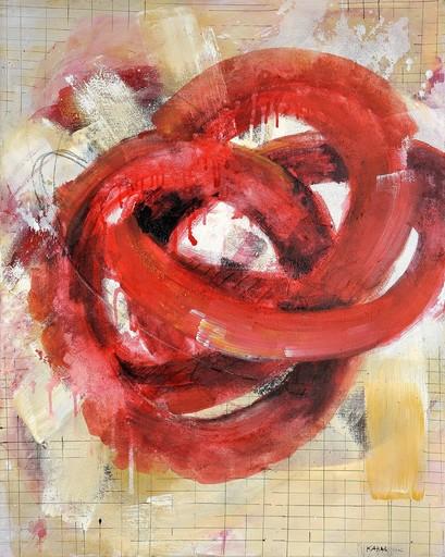 Robert KABAS - 绘画 - Rotes Ding