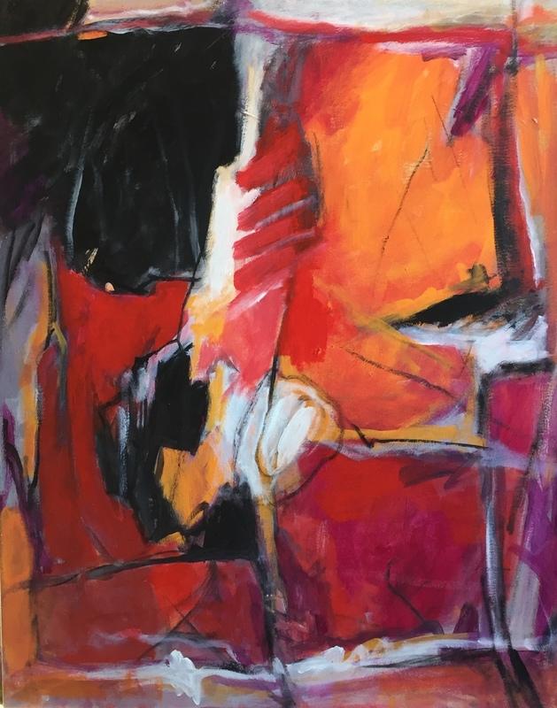 Irène DARGET-BASTIEN - Painting - LIMEN