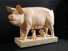 Gerard MAS - Escultura - La cerda capitolina