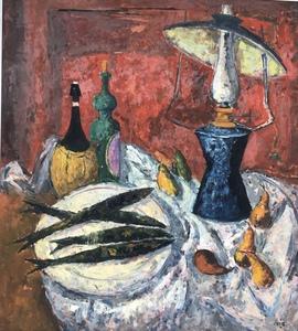 Arturo SOUTO - Painting - Still Life