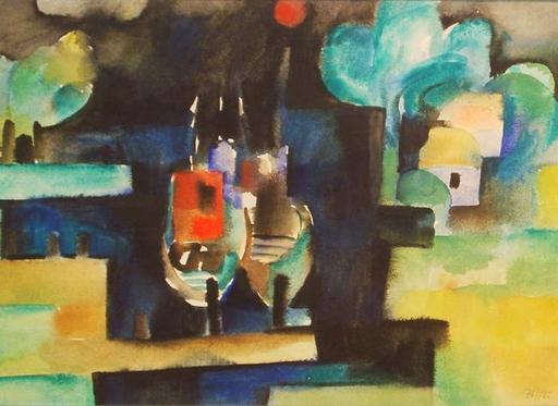 Bernard MICHEL - Pintura - Ostseehafen