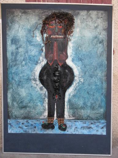 Alain LABORDE - Painting - MAMA FERTILITE