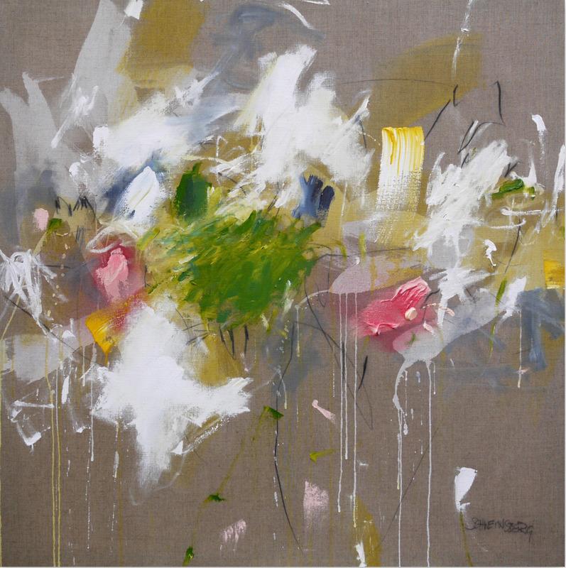 Daniela SCHWEINSBERG - Peinture - A Breath of Summer V