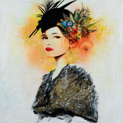 Laura BOFILL - Pittura - Elegante y con sombrero