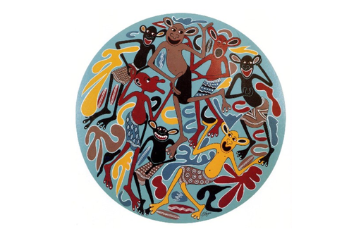 George LILANGA - Pintura - Vijana