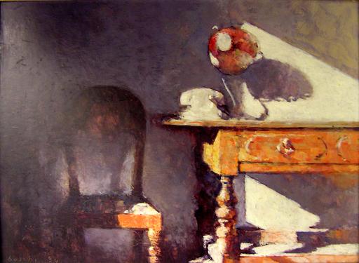 Dino BOSCHI - Painting - Interno