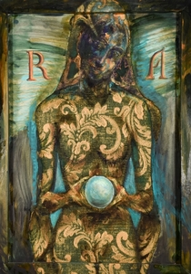 Bruno CECCOBELLI - Peinture - sibilla del 9