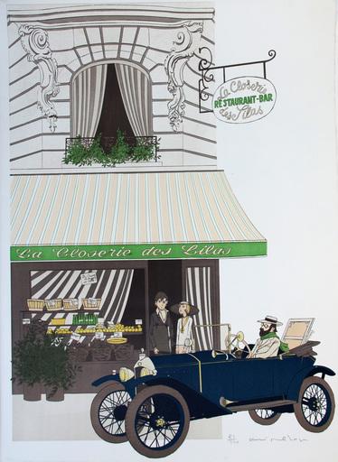 Denis Paul NOYER - Print-Multiple - LA CLOSERIE DES LILAS
