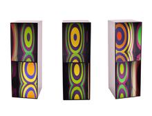 Julio LE PARC - Sculpture-Volume - Cercles par déplacement du spectateur