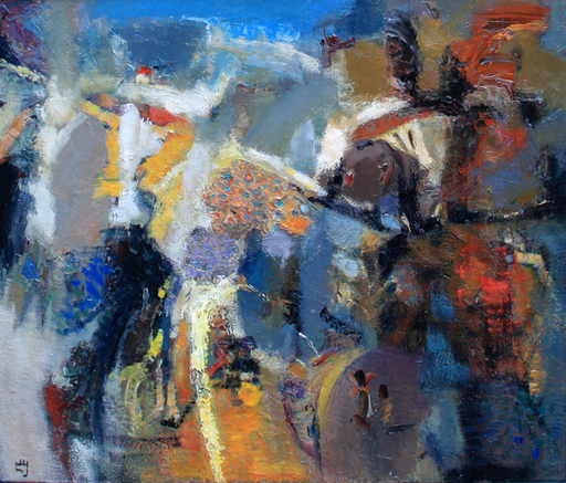 Levan URUSHADZE - Painting - Composition # 81
