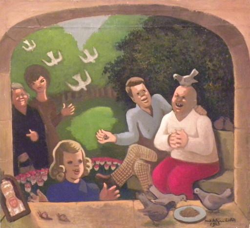 Madeleine LUKA - Gemälde - Cuba 1963