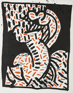 Keith HARING, Untitled