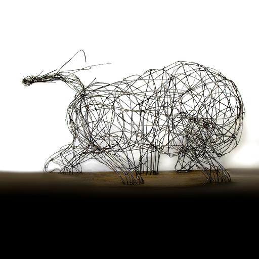 Rémi BERTOCHE - Sculpture-Volume - Toro