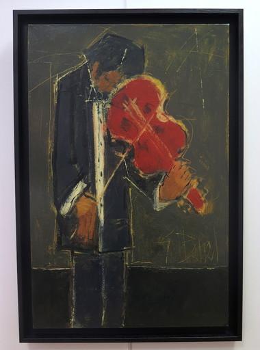 Germain BONEL - Peinture - schubert en ré mineur