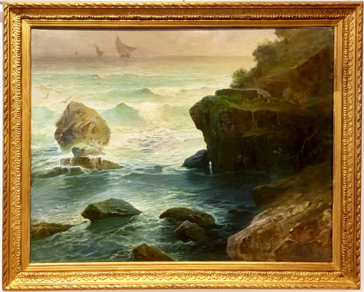 Salvatore PETRUOLO - Gemälde - Marina