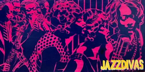 Marc FERRERO - Peinture - Jazz Divas