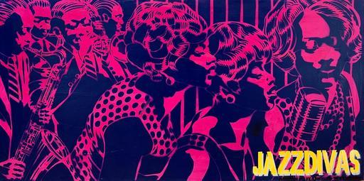 Marc FERRERO - Pintura - Jazz Divas