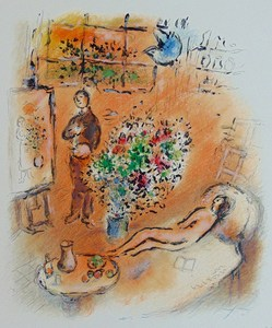 Marc CHAGALL - Stampa Multiplo - The Sunny Studio | L'Atelier Ensoleillé