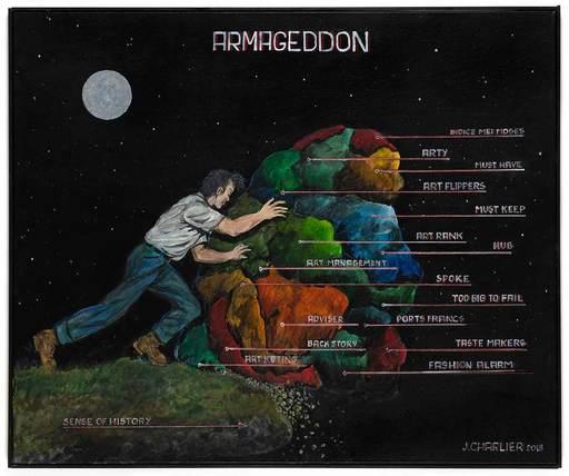 Jacques CHARLIER - Painting - ARMAGEDDON