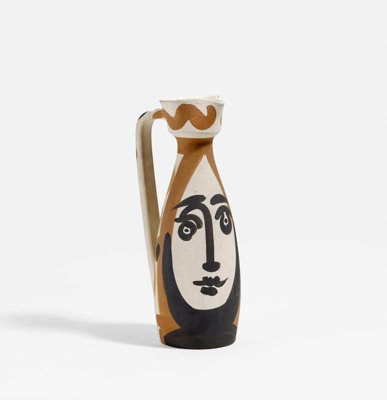 Pablo PICASSO - Ceramic - Face