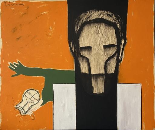 Max NEUMANN - Pintura - SANS TITRE