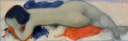 Alain BONNEFOIT - Gemälde - Sybille
