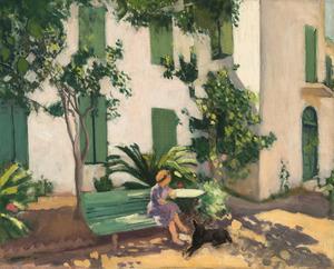 Albert MARQUET - Painting - Le repos devant la maison