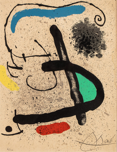 Joan MIRO - Stampa-Multiplo - Cahier d'ombres