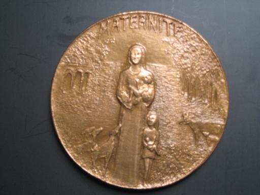 Anton PRINNER - Sculpture-Volume - MATERNITE 1974