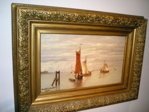 Joseph SCHAKEWITS - Pintura - Marine