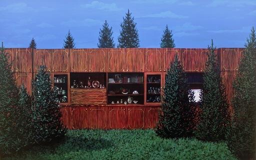 Damir MURATOV - Painting - Wall