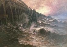 Albert Isidore DEVOS - Peinture - La Mer