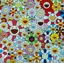 Takashi MURAKAMI - Estampe-Multiple - Flowers Blossoming in This World and the Land of Nirvana