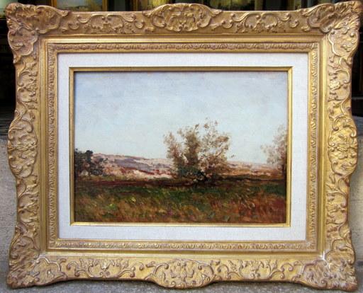 Félix ZIEM - Peinture - Paysage provençal