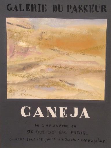 Juan Manuel DIAZ CANEJA - Painting - Boceto para cartel de exposición