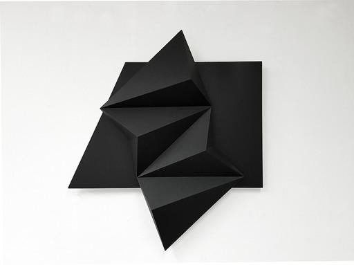 Fabrice AINAUT - Escultura - Objet noir sur noir