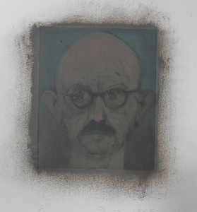 Jim DINE, A Dark Portrait (Self Portrait)