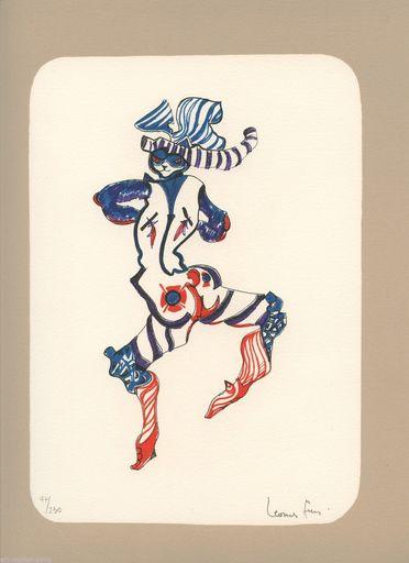 Leonor FINI - Print-Multiple - LITHOGRAPHIE CHAT SIGNÉ CRAYON NUM/230 HANDSIGNED LITHOGRAPH