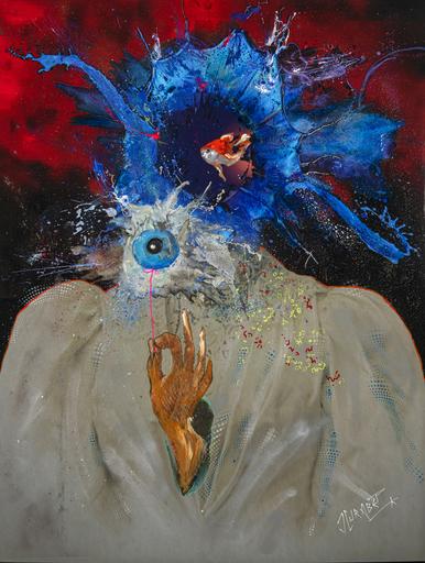 Jean-Luc CURABET - Painting - Dans le fond c'est pas si mâle