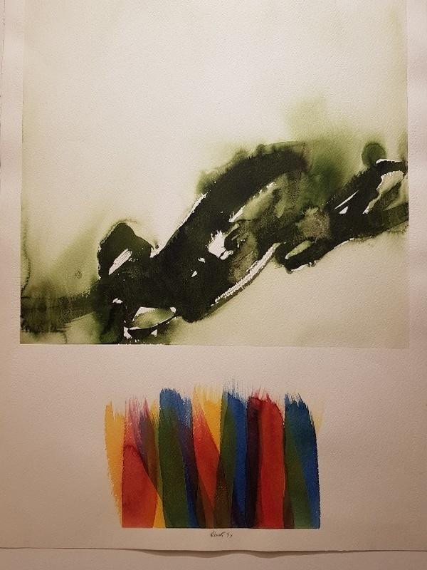 Davide BENATI - Drawing-Watercolor - Senza Titolo