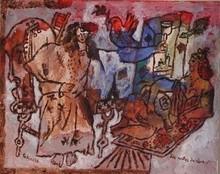 Théo TOBIASSE - Painting - les portes du rêve
