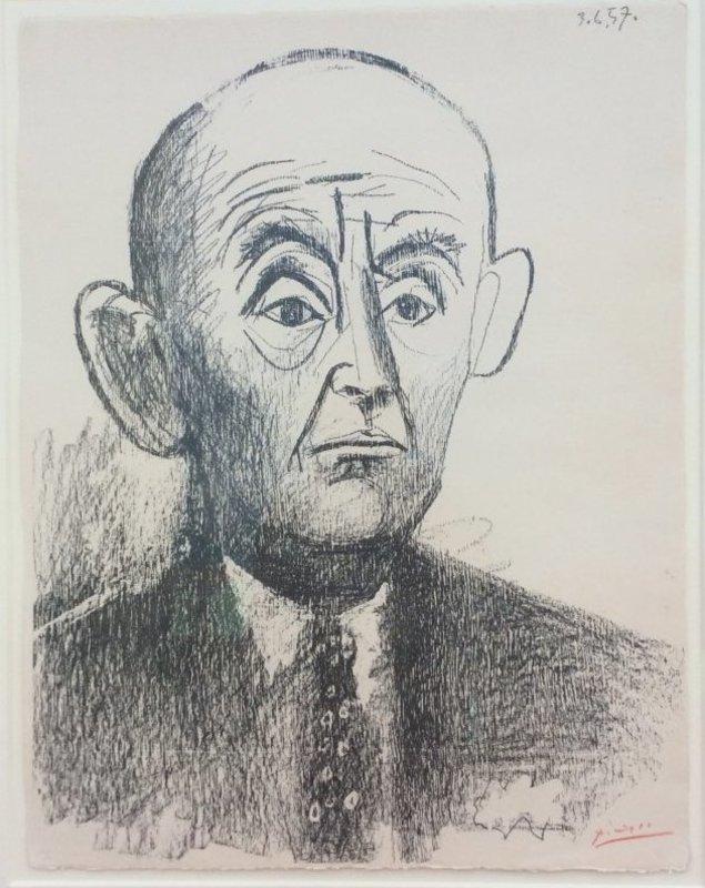 Pablo PICASSO - Stampa-Multiplo - PORTRAIT DH KANDWEILLER