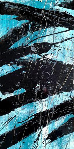 Marie Edmée SEGUIN - Painting - La nuit des temps N°29
