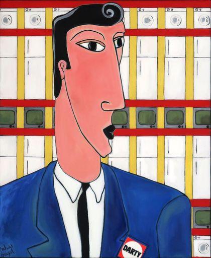 Richard BOIGEOL - Gemälde - Mr Darty