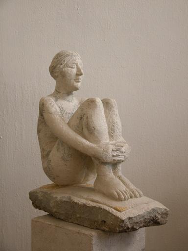 Viktor Ivanovich KORNEEV - Escultura - Steppe