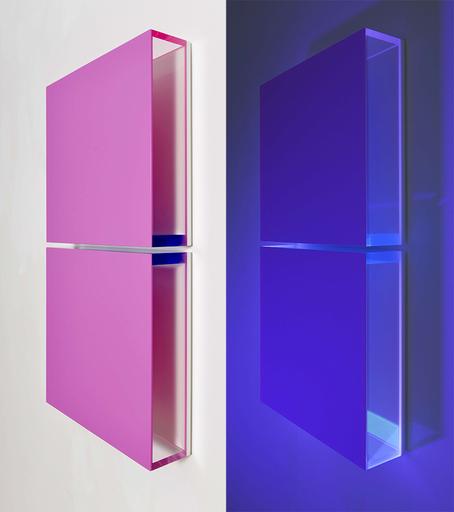 Regine SCHUMANN - Sculpture-Volume - Colormirror grape pink Milan