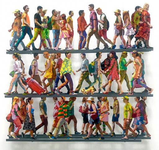 David GERSTEIN - Scultura Volume - 5th Avenue L