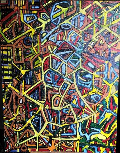 Walter SPRUYT - Pintura - Outburst one