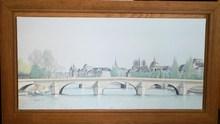 Arnaud D'AUNAY - Peinture - « Notre Dame & la Seine »
