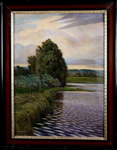 Tadeusz NOSKOWSKI - Peinture - Windy Day